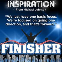 Michael Johnson, U.S. Olympian, Shares Insight to Success #InspirationalQuote