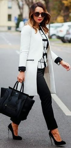 Trendy Business Casual Work Outfits For Woman 49 Business Fashion, Business Mode, Business Wear, Business Casual Womens Fashion, Business Style, Business Formal, Fashion Mode, Work Fashion, Street Fashion