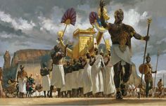 At the height of his power, King Taharqa leads his queens through the crowds during a festival at the temple complex of Nubia's Jebel Barkal, its pinnacle gleaming with gold. Accompanied by a sacred ship bearing an image of the god Amun, Taharqa is robed in a priestly leopard skin and crowned with the double uraeus that declares him Lord of the Two Lands—ruler of both Nubia and Egypt.