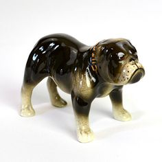 Bulldog Figurine  Sarge by Robert Simmons Hand by OneRustyNail, $15.95