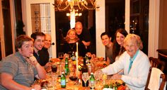 """Celebrating my first Canadian Thanksgiving with long-lost relatives on Vancouver Island!""  Sophie Black (BA Geography)"