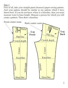 f37b1d2de8 Rasa s advices how best to sew  Bell bottom pants pattern