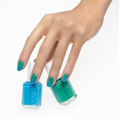 in it to win it - nail art by essie looks #ombres