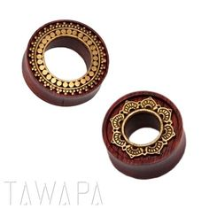 tawapa:  These two are some of our best sellers, the Inlay Afghan and Lotus Eyelets in Bloodwood with Brass. http://ift.tt/1pB3WWU http://ift.tt/1nPQqZY