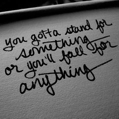 My dad started teaching me this at a young age! To this day he encourages me to stand up for the things I believe!