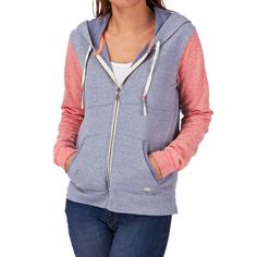 Billabong Into Dust Zip Hoody - Blue Indigo | Free UK Delivery
