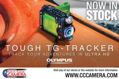 Track your adventure in Ultra HD! Come see us CC Camera!