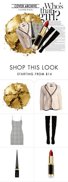 """""""who's that girl blazer"""" by realcherrybomb ❤ liked on Polyvore featuring Pat McGrath, rag & bone, Alexander Wang, Christian Louboutin, Vote and lazer"""