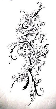 flower zentangle - Google-søgning