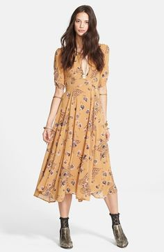 Free People 'Bonnie' Georgette Dress available at #Nordstrom