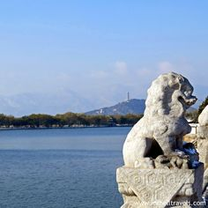 View over Kunming Lake at the Summer Palace Beijing