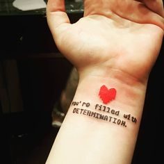 undertale tattoo - Google Search