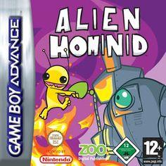 Emularoms: Alien Hominid ( E ) [ GBA ]