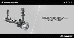 High performance suspension that makes your #SCross ride comfortable, quiet and stable.