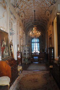 Castle of Piea interior, Asti, Italy