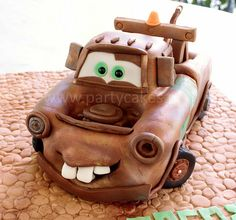 Mater Cake (by Party Cakes By Samantha) - Disney Cakes