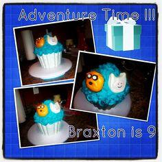 Braxtons birthday 2014 Adventure Time Birthday