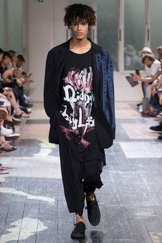 Yohji Yamamoto: menswear spring/summer 2018