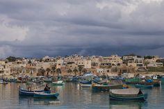 Sunday Market in Marsaxlokk Malta, San Francisco Skyline, Sunday, Travel, Domingo, Trips, Viajes, Traveling, Outdoor Travel