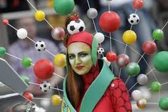 Music and soccer unite at the Women's World Cup Women's World Cup, Soccer World, Awesome, Fun, Costume, Dresses, Google, Fin Fun, Gowns