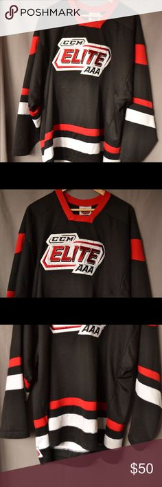 Vintage CCM Hockey Jersey, Great Colors Supreme based an entire collection on this style of jersey. Great colors. Will fit on a medium or large. Vintage Shirts Sweatshirts & Hoodies