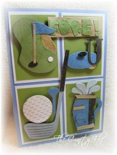 Golf Birthday Card This Would Be A Great For My Brother