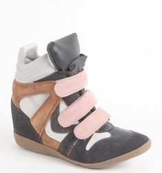 Steve Madden Wedge Velcro Sneakers - $149.50 at pacsun.com.  Someone give me $150 plzzz