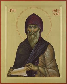 St John Cassian [the Ascetic] Nova, Byzantine Icons, High Art, Orthodox Icons, Religious Art, Little Sisters, Christianity, Saints, Religion