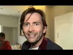 David Tennant Interviewed at the Sunshine On Leith Premiere 23/09/2013  This whole video I just wanted to run my fingers through his silky silky hair.