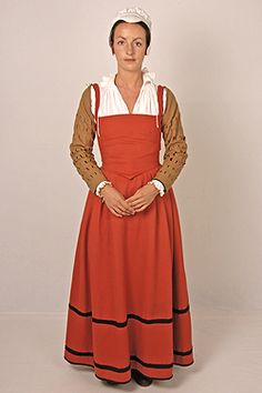 English middle-class women's kirtle c.1560's