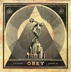 Shepard Fairey x Obey - 50 Shades Of Black