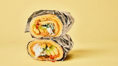 A Breakfast Burrito Recipe You Can Take To-Go, Because Life Moves Fast | Bon Appetit