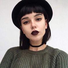 girl, style, and choker image