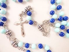 TENNESSEE TITANS NFL FOOTBALL ROSARY FROM ROSARYCREATIONS.COM