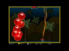 """Super Mehuri -  How would the old arcade game """"Pang"""" look if were made in the year 2015? I do not know but I guess it would look something like this :) This is MMM's vision of modern """"Pang""""."""