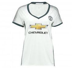Manchester United 16-17 Season Away White Women s Soccer Shirt  G383  Cheap  Football 5943da503