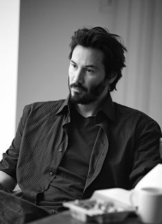 Keanu Reeves photographed by Amanda de Cadanet