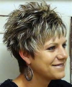 ... Spiky Hairstyles For Woman : Short Spikey Hairstyles For Women Over 40