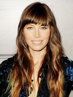 Tempted to get a fringe? Check out these haircut ideas.