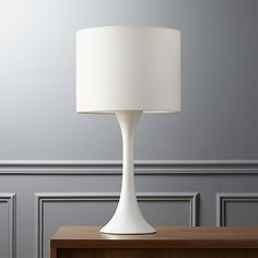 ada II white table lamp - $69.95 (less 15% is $59.45)