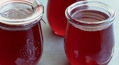 La recette de pots de gelée de grenade va en épater plus d'un !