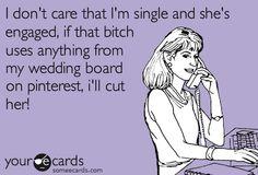 bahahahaha !! legit love my wedding board too much <3!