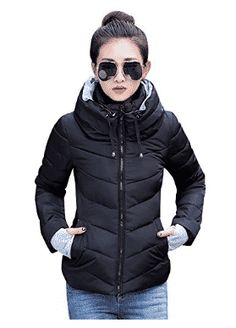 Cheap women parka, Buy Quality winter jacket women parkas directly from China winter jacket women Suppliers: AISHGWBSJ 2017 Winter Jacket Women Parkas Thicken Outerwear Solid hooded Coats Short Female Slim Cotton padded basic tops Winter Jackets Women, Coats For Women, Clothes For Women, Ladies Clothes, Dress Clothes, Outerwear Women, Outerwear Jackets, Women's Jackets, Cheap Jackets