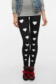 Sauce Heart Legging- Urban Outfitters
