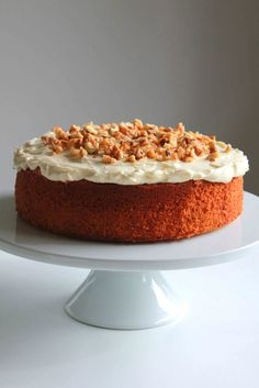 Ginger Citrus Carrot Cake with Cream Frosting 3