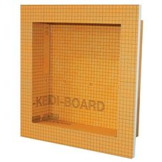KERDI-BOARD-SN 12 X 12 Prefabricated Shower Niche and a wide selection of Shower Niche. – American Fast Floors