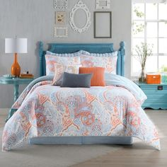 Bed Bath & Beyond. For the guest room airy & bright feel.