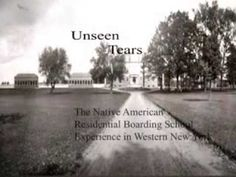 Unseen Tears: The Native American Boarding School Experience in Western ...