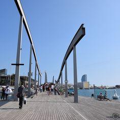 Un week-end à Barcelone: La Rambla de Mar #cbyclemence #barcelone #voyage