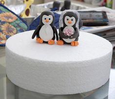 Penguin Wedding Cake Toppers.
